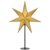 Mark Slöjd LED Weihnachtsstern Gleam Gold
