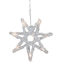 Konst Smide LED-Vorhang Sterne