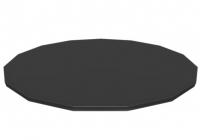 Flowclear PVC-Abdeckplane 470 cm