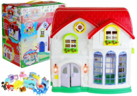 Puppenhaus aus Kunststoff