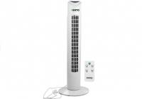 Turmventilator Vento 79 cm 40W Weiß Standventilator Windmaschine Luftkühler