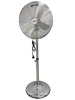 Ventilator Vento Windmaschine 40 cm 50W INOX  Standventilator Luftkühler