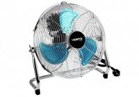 Ventilator Vento Bodenventilator 40 cm 75W verchromt Windmaschine Ventilator