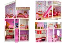 Puppenhaus Klaudia aus Holz