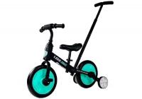 3in1 Dreirad, Fahrrad, Laufrad  schwarz-grün