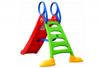 Große Gartenrutsche für Kinder 200cm mit Wasserdusche