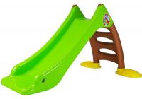 Kinderrutsche 424 grün-braun