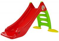 Rutsche für Kinder 424 grün-rot