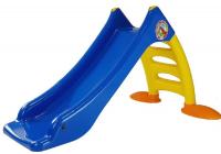 Rutsche für Kinder 424 blau-gelb