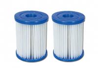 1 Bestway Flowclear Filterkartuschen Gr. II Doppelpack