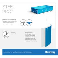 Bestway Steel Pro Frame Pool 259 x 170 x 61 cm ohne Pumpe