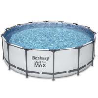 Bestway Steel Pro MAX Frame Pool 457 x 122 cm Komplett-Set