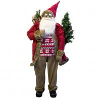 Weihnachtsmann Santa Sievert 150 cm