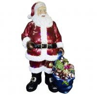 Weihnachtsmann Outdoor Santa 190 cm mit LED