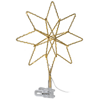 Star Trading LED-Tannenbaumspitze TOPSY für außen