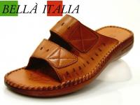 Sandale Damenschuh Kunstleder, italienischer Style