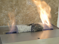 Bioethanol Duftholz, Duftbehälter aus Keramik für Tischkamin, Kamin