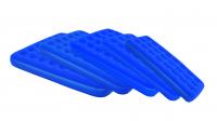 Bestway aufblasbares Velour-Gästebett, Luftbett, 191 x 137 x 22 cm, blau
