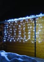 Hellum LED-Lichtvorhang 200 BS weiss weiss aussen