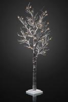 Hellum LED-Baum mit Schnee 70cm 30 BS warmweiss innen