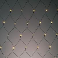 Hellum LED-Lichtnetz 208 BS warmweiss/gruen aussen