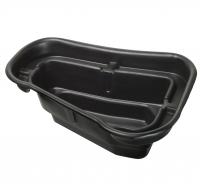 Ubbink START 150 - Fertigteich - HDPE, Oberfläche 0,81 m², max. Tiefe 42 cm, Fassungsvermögen 150 l - H42 x 119 x 79 cm