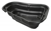 Ubbink START 750 - Fertigteich - HDPE, Oberfläche 2,75 m², max. Tiefe 55 cm, Fassungsvermögen 750 l - H55 x 202 x 160 cm