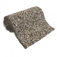 Ubbink Steinfolie Classic Fix - als Fertigmaß verpackt, Farbe grau - 0,60 x 5 m