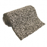 Ubbink Steinfolie Classic Fix - als Fertigmaß verpackt, Farbe grau - 1,00 x 5 m