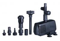 Ubbink XTRA 2300 - Springbrunnenpumpe - Qmax(l/h) 2300, 35W, Hmax(m) 2,20, 1/2 - Vulkan 90x60 cm, Schaumsprudler 50cm