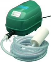 Ubbink AIR 2000 - Belüftungspumpe, Durchflussregler : Hi/Low, 1x Luftschlauch 5m, 1x Belüfterstein, Inkl. Ersatzmembran, 20w - 2000 l/h