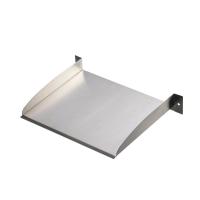 Ubbink BRISBANE 30 - Überlauf-Element, Inox 304 - H6 x 30 x 25 cm