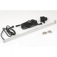 Ubbink LED STRIP 30 - Beleuchtung für Wasserfall - Trafo 230VAC/12VAC-50Hz, 20 LEDs blau, Kabel 5 m - LED: 180 Lumen, EEK A+, 3w - L30 cm