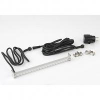 Ubbink LED STRIP 60 - Beleuchtung für Wasserfall - Trafo 230VAC/12VAC-50Hz, 35 LEDs blau, Kabel 5 m - LED: 240 Lumen, EEK A+, 4w - L60 cm