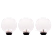 Ubbink MULTIBRIGHT FLOAT 3 - LED, schwimmende Kunststoffkugeln, 3 LEDs G4, 24 SMD warmweiß, Trafo12V, 6W - 75 Lumen, EEK A+, 1,5W