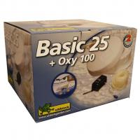6 x Ubbink BASIC SET - Eisfreihalter - Ø25 cm + Belüftungspumpe Oxy 100 - 100 l/h