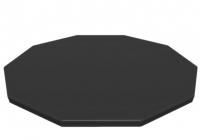 Bestway Flowclear PVC-Abdeckplane Ø 305 cm schwarz