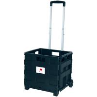 Einkaufskorb Einkaufstrolley Transport Box fahrbar, Smartbox Pro
