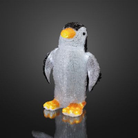 Hellum LED-Pinguin 60 BS weiß außen