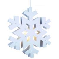 STAR Trading Schneeflocke Arctica 60cm weiß innen