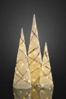 Hellum LED Pyramide Kegel-Set