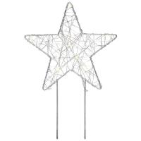 Mark Slöjd Weihnachtsleuchter GARDENER 10 warmweiße LEDs batteriebetrieben