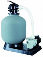 Ubbink PoolFilter - Sandfilter ? 500mm - Leistung 17m?/h - 3,5bar - Kap. max. 75kg - 6-Wege-Ventil