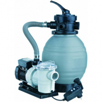 Ubbink PoolFilter - Set 2,5 m?/h f?r Pools < 20m? - ? 300mm - Leistung 10m?/h - 3,5bar - Kap. max 25kg - 4-Wege-Ventil + Poolmax TP25