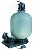 Ubbink PoolFilter - Set 13,0 m?/h f?r Pools < 100m? - ? 600mm - Leistung 17m?/h - 3,5bar - Kap. max. 100kg - 6-Wege-Ventil + Poolmax TP120