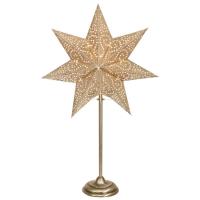 Best Season Tisch-Weihnachtsleuchter ANTIQUE MINI gold