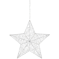 Mark Slöjd LED-Fensterbild Stern  ARTUR mit 50 warmweißen LEDs batteriebetrieben auch Netz