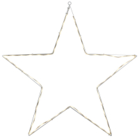 Best Season LED-Silouette 54 warmweiße LEDs Stern