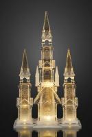 Hellum LED-Kathedrale Acryl 12 BS warmweiß innen