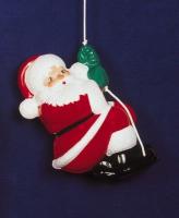 Weihnachtsmann Kletterer 52cm außen
